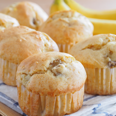 Healthy Banana Bites