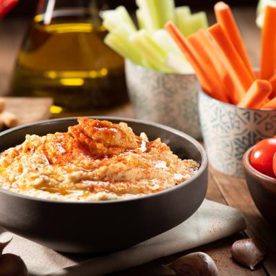 Zucchini-Tumeric Hummus