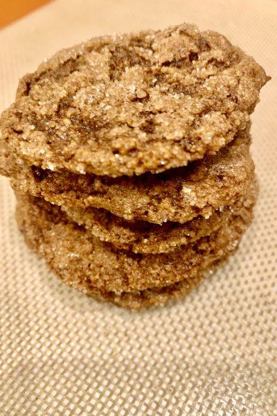 Vegan spice cookies
