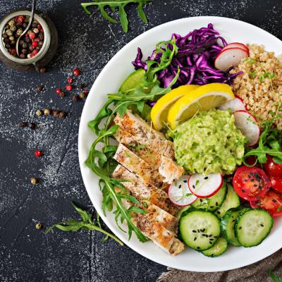 Eat a Balanced Plate – The fundamental5